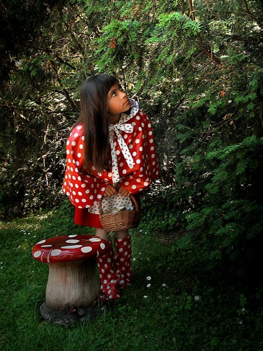 deguisements,enfants,couture,conte,creation,costume,princesse,chaperon rouge, fée