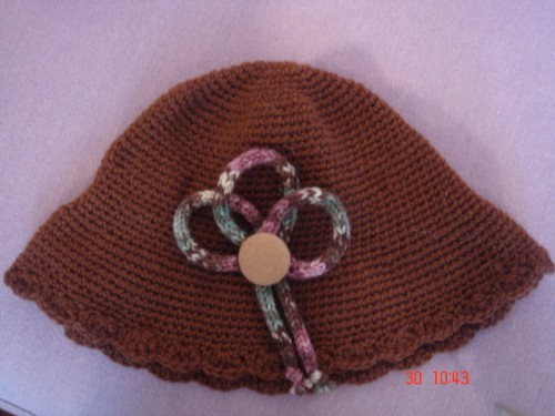 chapeau,fille,enfant,crochet,tricot,mode,laine,creation